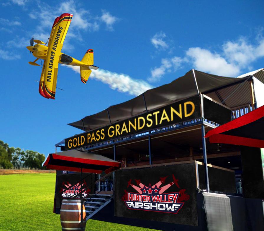 Gold Pass Grandstand